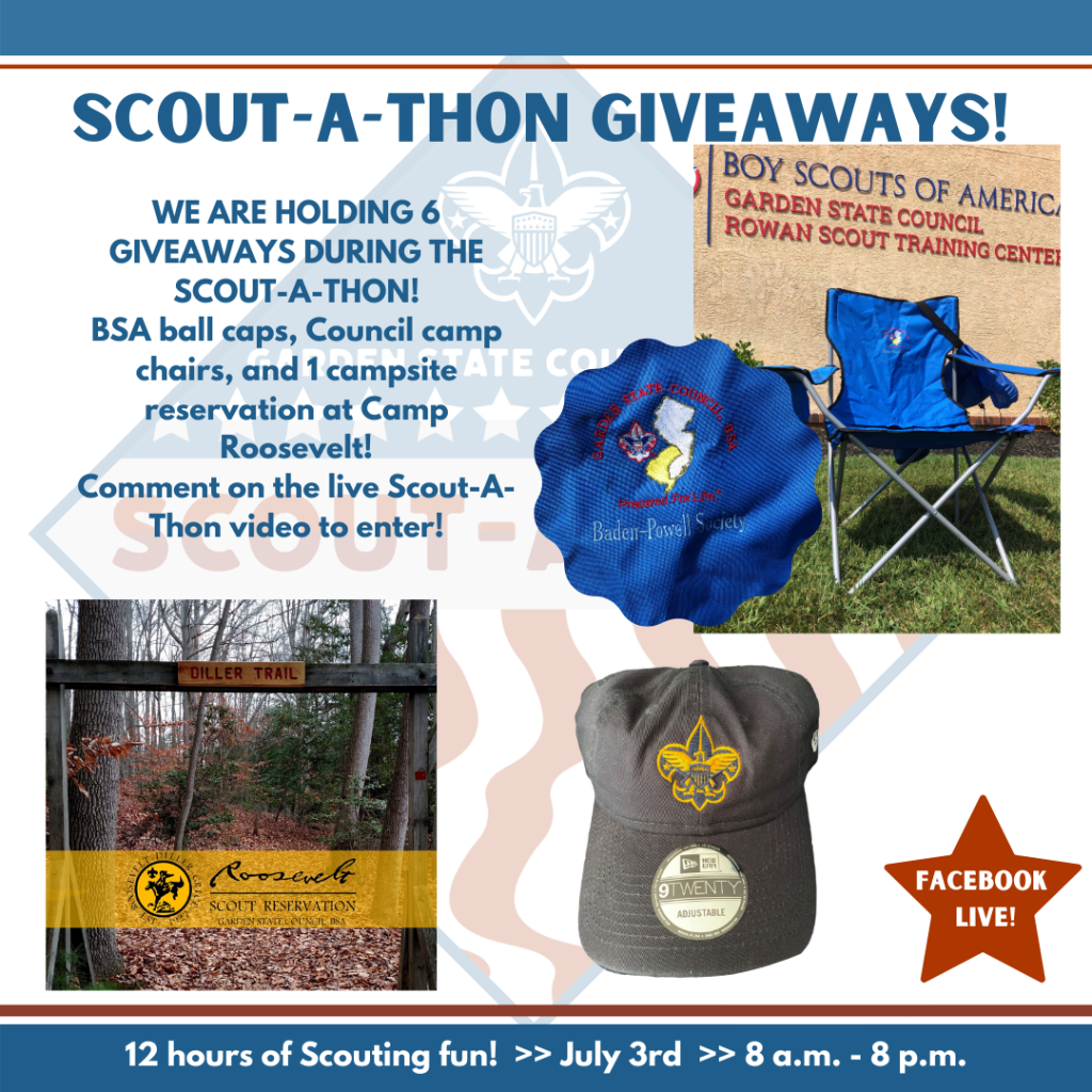Scout-A-Thon Giveaways for July 3 2020